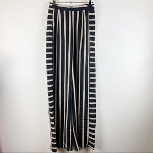 Nasty Gal High Rise Striped Wide Leg Pants
